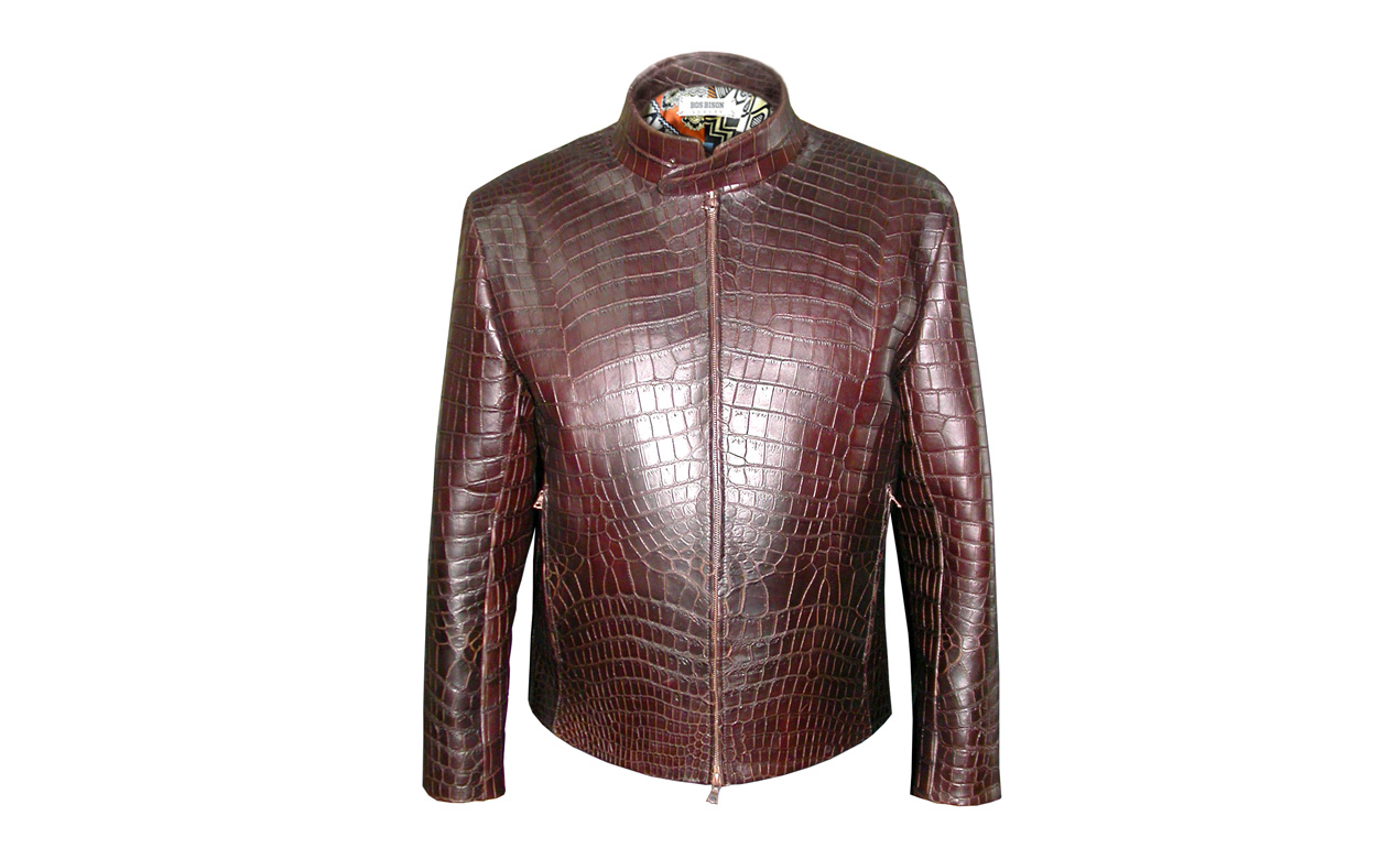 Купить Куртку Из Крокодиловой Кожи